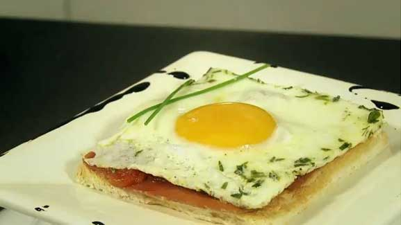 Recette Oeuf plat