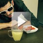 Recette de crème d'asperge réalisée avec un mixer Bamix