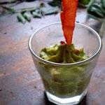Guacamole de petit pois au piment d'espelette/poitrine fumée – Les recettes de Flo