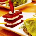 Millefeuille de betterave et mousse de chèvre frais – Les recettes de Flo