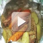 Oeuf cocotte gourmand aux écrevisses, Papillote de choucroute et jarret, Gâteau aux pommes de terre, Mirliton Champenois