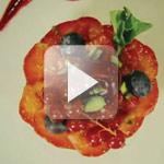 Clafoutis de framboises et pistache verte au sirop d'agave – Sunny Via