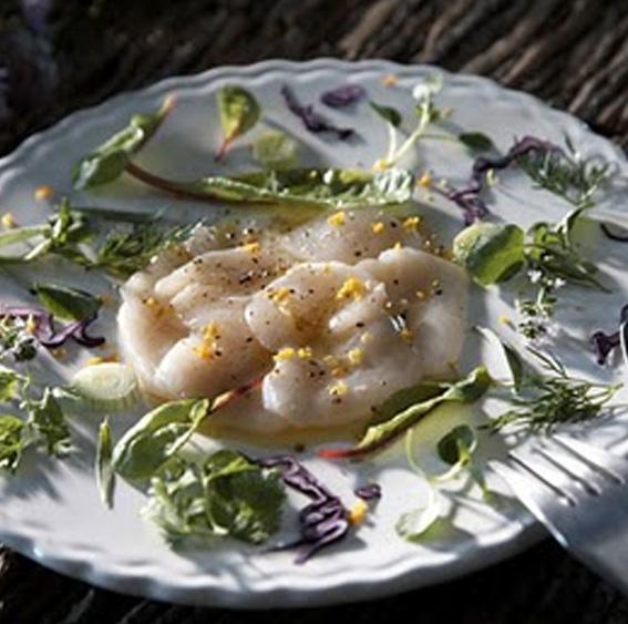 carpaccio noix de saint jacques recette de Flo