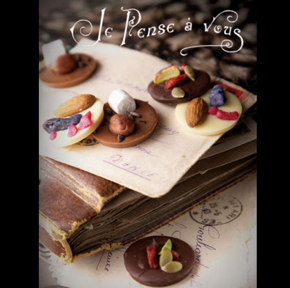 palet au chocolat, recettes de Flo, dessert chocolat