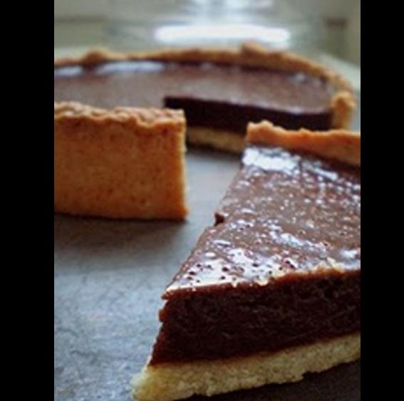 tarte chocolat au lait, dessert, recette de Flo